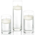 Rental store for FLOATING CANDLE, 3  WHITE - EACH in State College PA