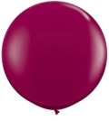 Rental store for 3  LATEX BALLOON - BURGUNDY, INFLATED in State College PA