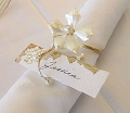 Where to rent PEARL FLORAL   GOLD NAPKIN RING in State College PA