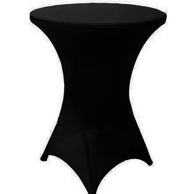 Where to find COCKTAIL TABLEFORM - BLACK SPANDEX in State College