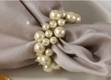 Where to rent PEARL NAPKIN RING, EACH in State College, Altoona and all of Central Pennsylvania