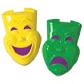 Rental store for PLASTIC COMEDY TRAGEDY MASK - 21 in State College PA