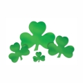 Rental store for FOIL SHAMROCK CUTOUTS, ASST - 16 PKG in State College PA