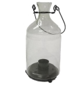 Rental store for GLASS CANDLE LANTERN - SHORT in State College PA