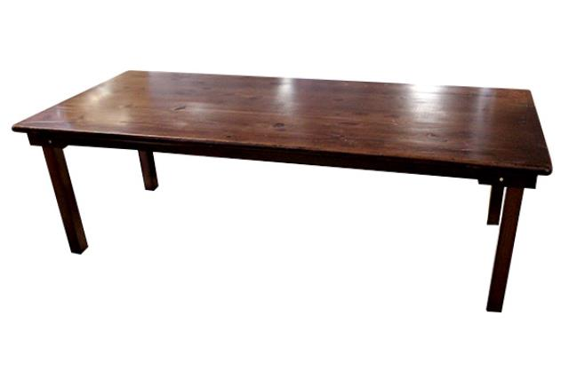 Where to find FARM TABLE, 3  X 8  - WOOD in State College