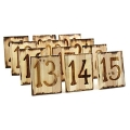 Rental store for WOODBURNED TABLE NUMBERS, 13 - 24 in State College PA