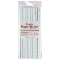 Rental store for PAPER STRAW, LIGHT BLUE - 24 PK in State College PA
