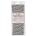 Rental store for PAPER STRAW, BLACK - 24 PK in State College PA