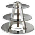 Rental store for HAMMERED CHROME 3-TIER TRAY in State College PA