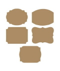 Rental store for LABELS - KRAFT PAPER 10 PKG in State College PA