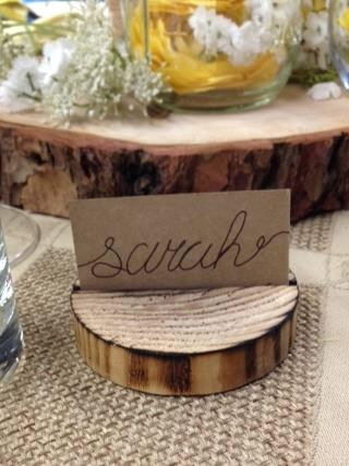 Where to rent PLACECARD WOODEN DISC in State College, Altoona and all of Central Pennsylvania