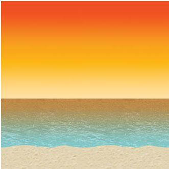 Where to find LUAU SUNSET BACKDROP - 4  x 30 in State College