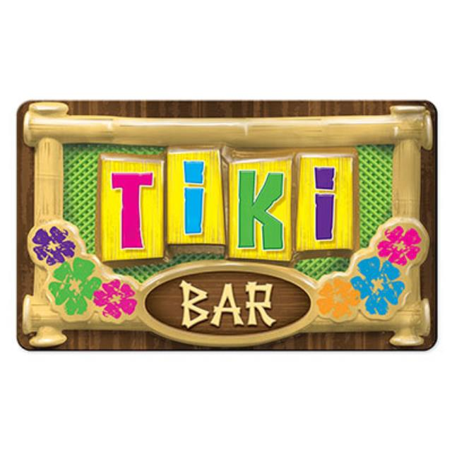 Where to find 3-D TIKI BAR SIGN, 12  X 19 in State College