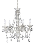 Rental store for CRYSTAL CHANDELIER - 5 LITE in State College PA