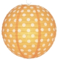 Rental store for PAPER LANTERN - POLKA DOT ORANGE in State College PA