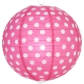 Rental store for PAPER LANTERN- POLKA DOT FUCHSIA in State College PA