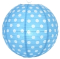 Rental store for POLKA DOT PAPER LANTERN, TURQUOISE in State College PA