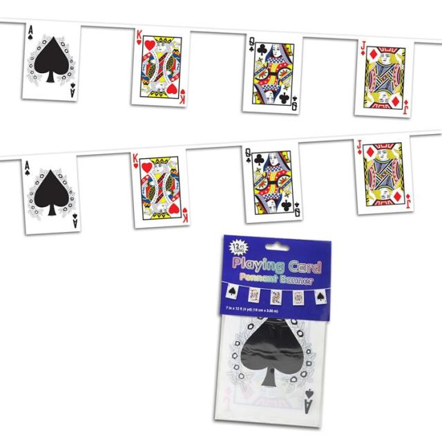 Where to rent PLAYING CARD BANNER, 10  X 12 in State College, Altoona and all of Central Pennsylvania