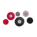 Rental store for CASINO FAN DECOR, 6 PKG - 8  12  16 in State College PA