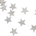 Rental store for HANGING STAR GARLAND - SILVER, 8.5 in State College PA