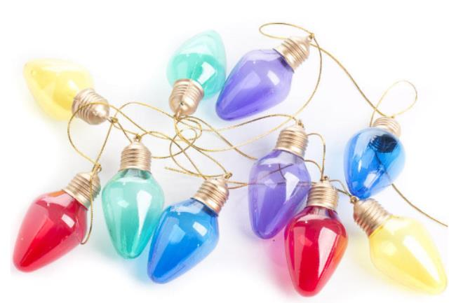 Where to rent CHRISTMAS BULB GARLAND - 9 in State College, Altoona and all of Central Pennsylvania
