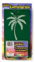 Rental store for PALM TREE LUMINARIES, W TEA LIGHTS  6 in State College PA