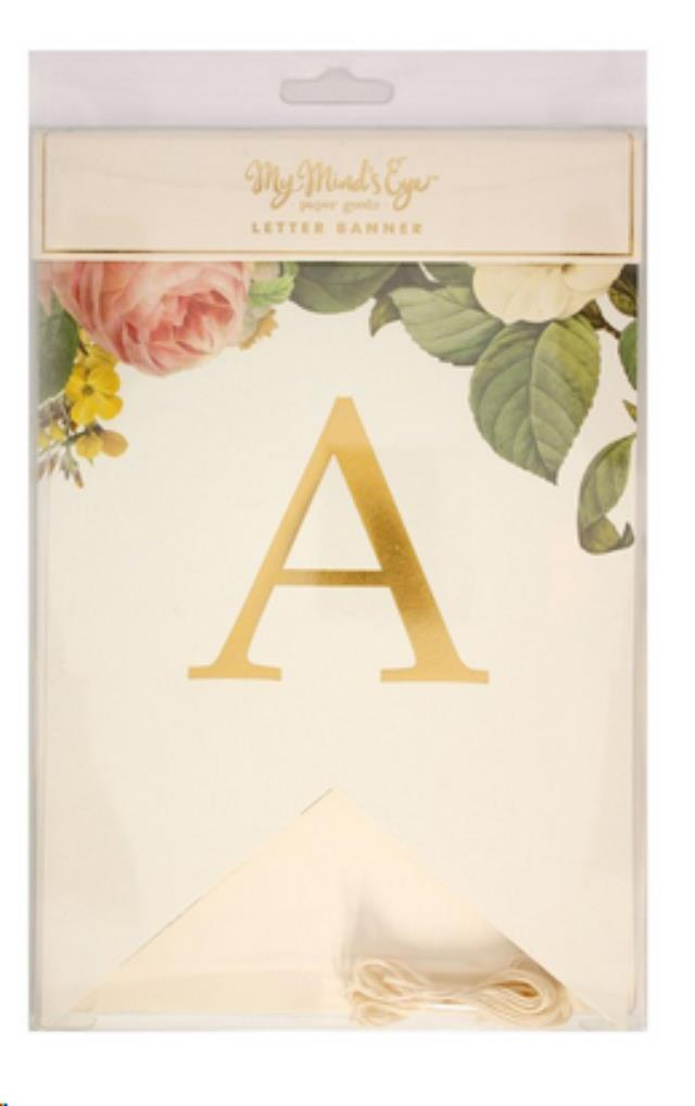 Where to find LETTER BANNER - BOTANICAL in State College