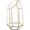 Rental store for GEOMETRIC LANTERN - GLASS   BRASS in State College PA