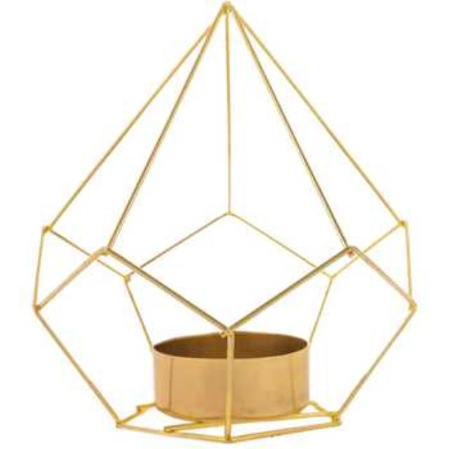 Where to find GEOMETRIC TEA-LIGHT HOLDER, BRASS in State College