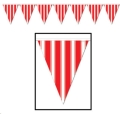 Rental store for PENNANT BANNER, 30  - RED   WHITE STRIPE in State College PA