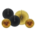 Rental store for METALLIC DECORATIVE FANS, 5 PKG in State College PA