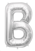 Rental store for 34  LETTER  B  MYLAR - SILVER in State College PA