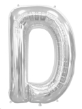 Rental store for 34  LETTER  D  MYLAR - SILVER in State College PA