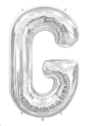 Rental store for 34  LETTER  G  MYLAR - SILVER in State College PA