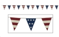 Rental store for AMERICANA FABRIC PENNANTS, 9.5  X 12 in State College PA