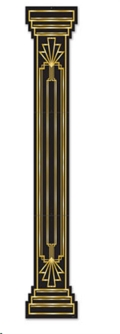 Rental store for ROARING 20 S COLUMN CUTOUT, 6 in State College PA