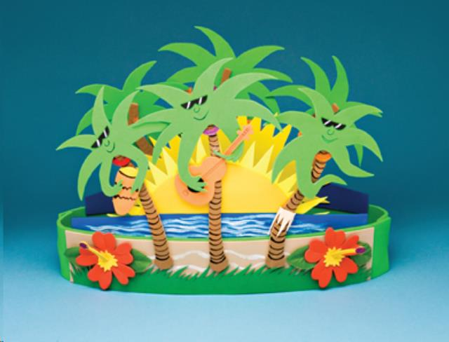 Where to find COOL PALMS CENTERPIECE, 12  X 18 in State College