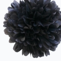 Rental store for 16  FLUFFY DECORATIONS, BLACK - 3 PKG in State College PA