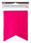 Rental store for PENNANT BANNER - MAGENTA CANVAS 12 PCS in State College PA