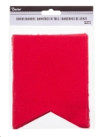 Rental store for PENNANT BANNER - RED CANVAS 12 PCS in State College PA