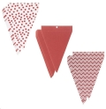Rental store for PENNANT BANNER - PATTERNED RED 24 PCS in State College PA