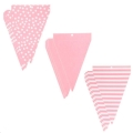 Rental store for PENNANT BANNER - PATTERNED PINK  24 PCS in State College PA