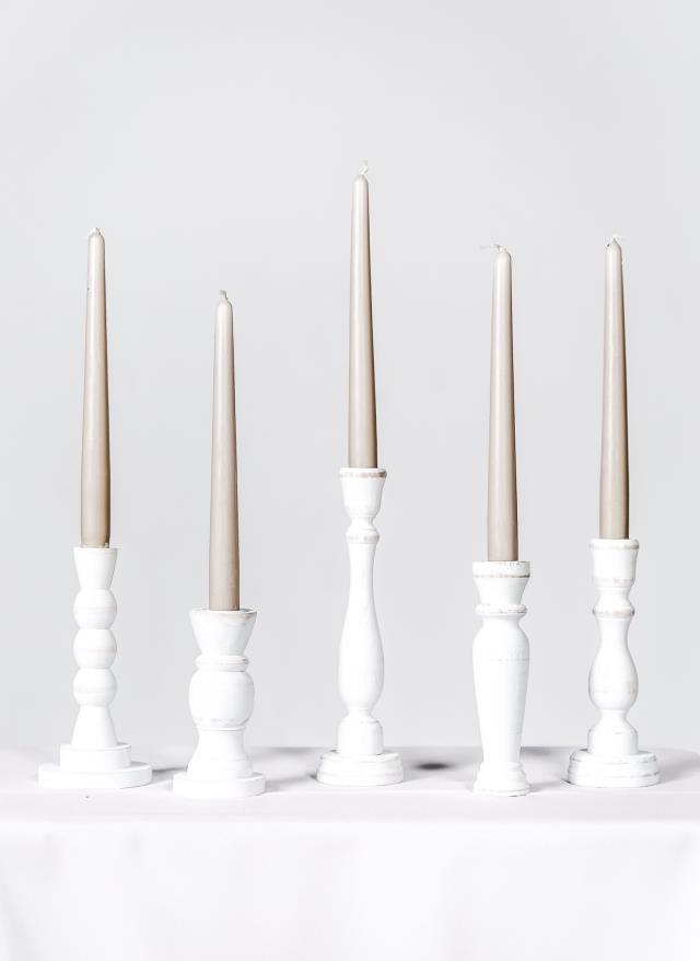 Where to find WHITE VINTAGE CANDLESTICKS- SET OF 5 in State College
