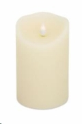 Rental store for BATTERY OP PILLAR CANDLE - WHITE in State College PA