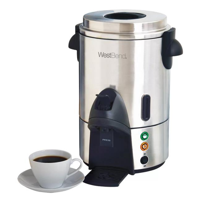 Where to rent COFFEE MAKER, 60 CUP STAINLESS STEEL in State College, Altoona and all of Central Pennsylvania