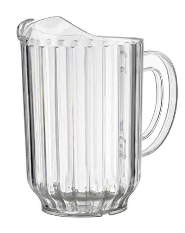 Where to rent BEV PITCHER, CLEAR POLY - 60 OZ in State College, Altoona and all of Central Pennsylvania