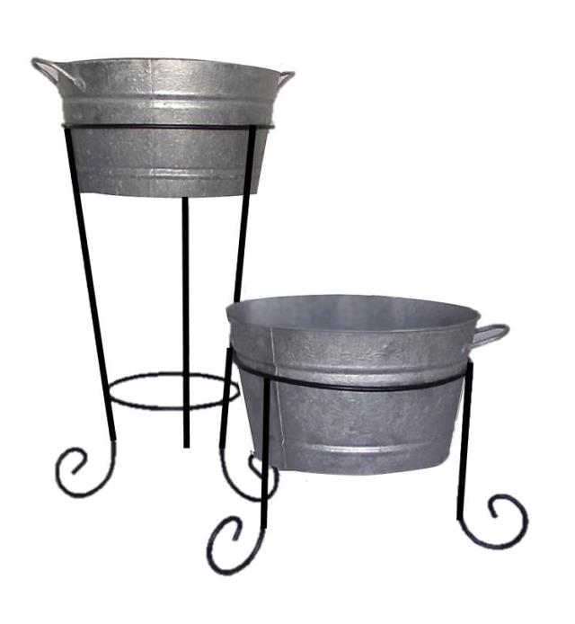 Where to find ALUMINUM TUB w  IRON STAND - 28  TALL in State College
