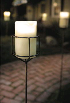 Where to rent STAKED PILLAR CANDLE - BATTERY OP in State College, Altoona and all of Central Pennsylvania