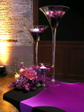 Where to rent MARTINI GLASS CENTERPIECE - 19  TALL in State College PA