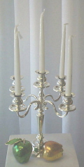 Where to rent SILVER CANDELABRA - 14  TALL in State College PA